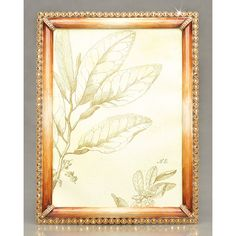 """Jay Strongwater """"Lucas"""" Frame ($635) ❤ liked on Polyvore featuring home, home decor, frames, jay strongwater picture frames, beaded picture frames, handmade frames, handmade home decor and handmade picture frames"""