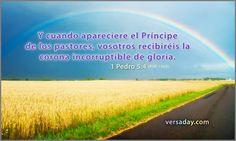 Foto: 1 Pedro 5:4 #biblia https://versaday.com/Months/10/1030_es.aspx
