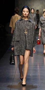 Dolce & Gabbana Woman Runway Show - Video and Photos Fall Winter 2014