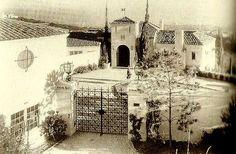 doris duke falcons lair   ... Of Old Hollywood: Hollywood at Home: Rudolph Valentinos Falcon Lair