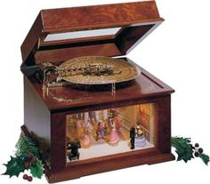 image antique music boxes - Google Search