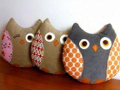 Owls - pattern @ retromama