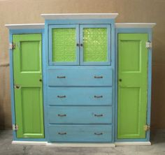 Shop for dresser on Etsy, the place to express your creativity through the buying and selling of handmade and vintage goods. Armoire, Dresser, Entertainment Center Redo, Clothing Storage, My Dream Home, Paint, Etsy, Bedroom, Awesome
