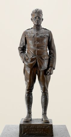 """Captured but Not Conquered"" by Cyrus Dallin, 35"" Bronze.  For the amazing story behind this sculpture, please click through."