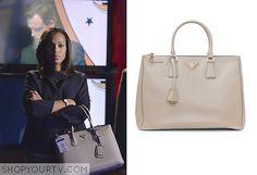 Prada Saffiano Lux Double-Zip Tote Bag- The bag Olivia Pope ...