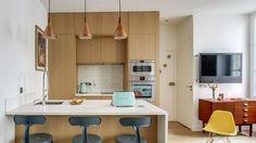 Avant/après des idees pour Chatel : changement radical pour cette cuisine design