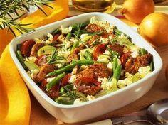 Wer die griechische Küche mag, dem schmeckt unser Gyros-Gemüse-Auflauf bestimmt ganz ausgezeichnet.