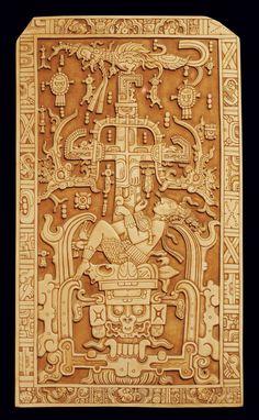La lapida de Pakal en Palenque