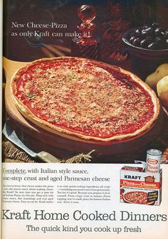 Kraft Pizza Kit - had the little spice package included. Better than Chef Boyardee