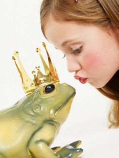 in life you have to kiss many frogs before you find your prince...