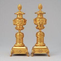 Louis XVI style Cassolettes, 19th Century