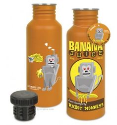 Banana Juice water bottle