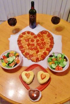 Amazing valentine's day dinner, Valentine's Day dinner I made for hubby