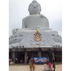We found the Big  Buddha in Phuket