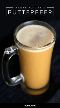 Hot and Cold Harry Potter Butterbeer Recipe! While there are lots of Butterbeer renditions out there this recipe uses actual butterscotch and beer.
