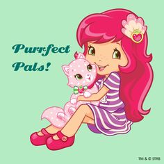 Purrfect Pals with Strawberry Shortcake and Custard