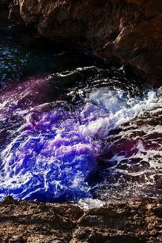 Les vagues colorées dArnaud Lajeunie Photo