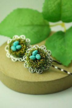 nest hair pins