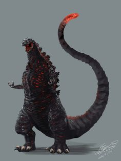 Shin Godzilla by 羽倉房  -  I can't wait for this movie!