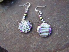 Atelier-Muza / Náušnice farebné prúžky  (Farebné prúžky) Earrings Handmade, Jewerly, Drop Earrings, Atelier, Jewlery, Schmuck, Jewelry, Drop Earring, Jewels