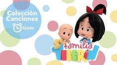 Familia Telerín. Colección Canciones (12 minutos). Canciones Infantiles ...