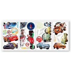 Muurstickers Cars 2 2016