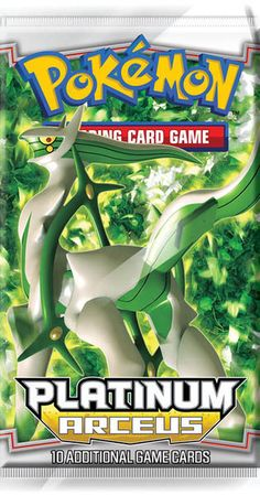 Arceus is the fourth expansion in the Pokémon Card Game DPt series and is based on the twelfth movie,Arceus and the Jewel of Life. The Pokémon featured in the set, unlike in the three previous sets, a