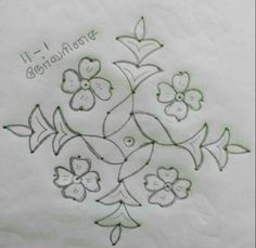 Indian Rangoli Designs, Simple Rangoli Designs Images, Rangoli Border Designs, Rangoli Patterns, Rangoli Ideas, Rangoli Designs With Dots, Rangoli With Dots, Beautiful Rangoli Designs, Henna Designs