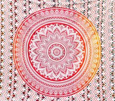 Ombre Tapestries. Ombre Tapestries in Twin and Queen Size crafted with soft , lightweight 100% cotton with mesmerizing colorful patterns. Put in on bed or sofa/couch or on a wall, also perfect to make a beach blanket or picnic blanket. Give an ethnic feel to the room with a cotton wall hanging. Traditionally designed and handmade , it is perfect for house decoration and style. Tapestries can be used as a - Bed cover Bedspread Table Cloth Curtain Tapestry /...