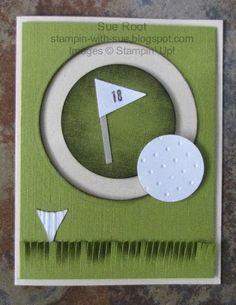 Golf Spinner Card