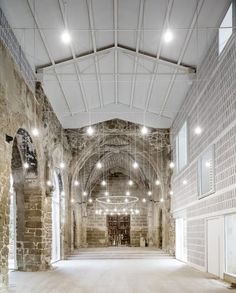 We love this beautiful lighting concept in the Ancient Church of Vilanova de la Barca in Spain (photo via @architizer)  #modernlighting #architecture #renovation #spanishdesign #photooftheday #moderninteriors #design #designinspo #lighting #moderndecor #modernpendant #lightinginspo #modernstyle #moderndesign #design #modern #interiordesign #interiors #interiordecor #interiorstyling #interiordesigner #decor #decorate