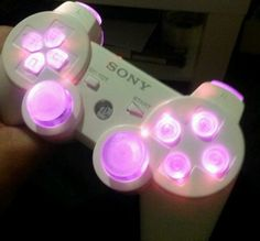 Custom ps3 controller with led buttons