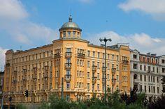 Poland, Lodz, Kilinskiego/Narutowicza - hotel polonia