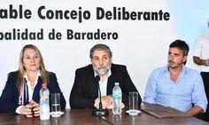 El expresidente de Wikipedia brindó una conferencia de prensa en el Honorable Concejo Deliberante