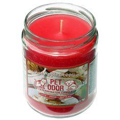 Hot Apple Cobbler Pet Odor Exterminator Candle