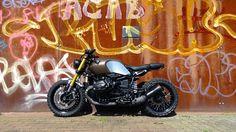 Ready to enjoy? Do it with Bmw RnineT #Scrambler by Joeri Leys #motorcycles #motos | caferacerpasion.com