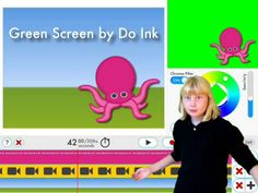A video tutorial demonstrates the features and remains in the timeline for kids to manipulate.