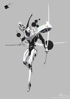 Dustrial, Cyberpunk Clothing & Apparel — sekigan: P-xx-的照片… Character Design References, Game Character, Character Concept, Fantasy Character Design, Character Design Inspiration, Accel World, Robot Concept Art, Robot Design, Sci Fi Characters