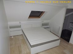 You are in the right place about parent room plan Here we offer you the most beaut Attic Master Bedroom, Attic Bedroom Designs, Attic Bedrooms, Upstairs Bedroom, Bedroom Loft, Home Room Design, Home Office Design, Loft Conversion Bedroom, Bedroom Closet Storage