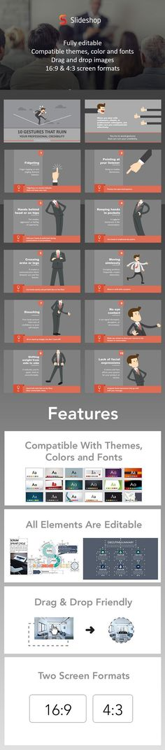 Resume Powerpoint Template Template, Presentation templates and