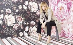 MARCCAIN VOORJAAR/ZOMER 2015 - love love love the floral patterns.