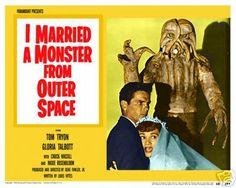 carteles peliculas ciencia ficcion años 50 - Buscar con Google