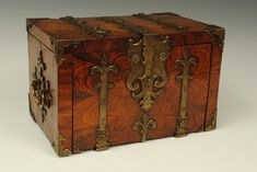 COFFER FORT STRONG BOX | Date: 1690 | Origin: England