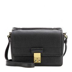 3.1 Phillip Lim Pashli Mini Messenger Leather Shoulder Bag (62.585 RUB) ❤ liked on Polyvore