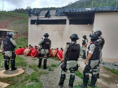#News  Tentativa de fuga em massa é registrada no presídio de Caratinga, MG