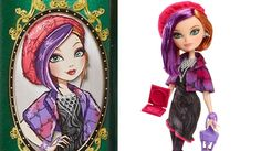 Poppy O'hair Through The Woods Doll   Ever After High