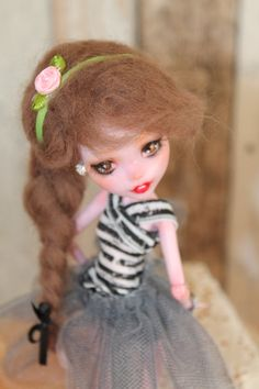 Rocky Girl-OOAK Monster High-Repaint Puppe Unikat von Elfenshop