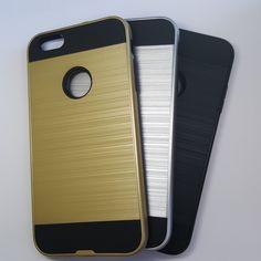 Apple iPhone 6 Plus/ 6S Plus - Slim Sleek Brush Metal Case - 6.75$