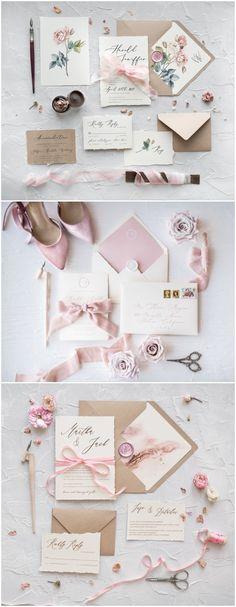 Vintage wedding invitations #weddings #wedidngideas #cards #4lovepolkadots