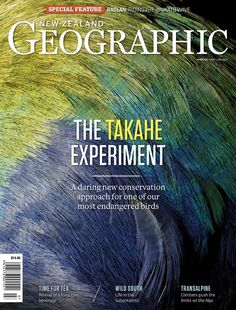 New Zealand Geographic, May/June 2012,